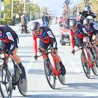 BMC Racing, team time trial, Tirreno-Adriatico, stage one, 2018, pic - Sirotti