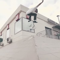 DVS France backside flip