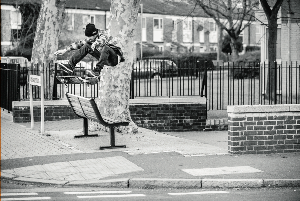Chris Oliver - frontside flip