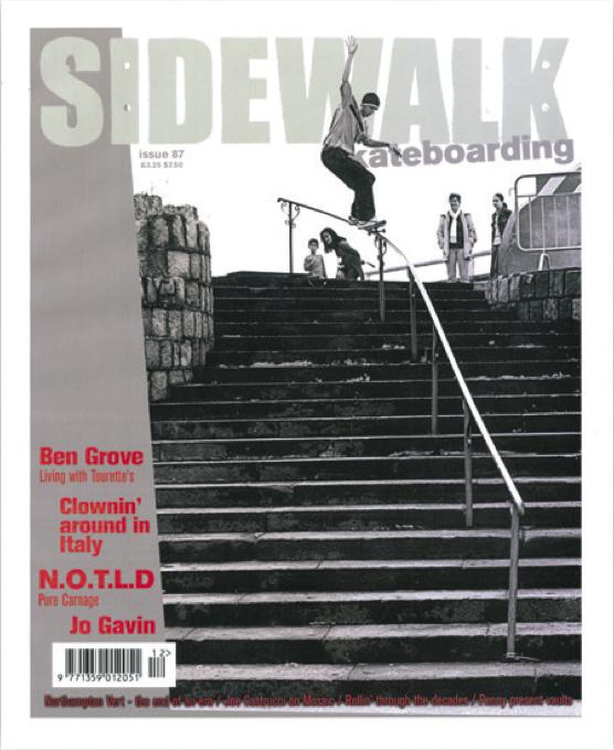 Chris Oliver Sidewalk cover