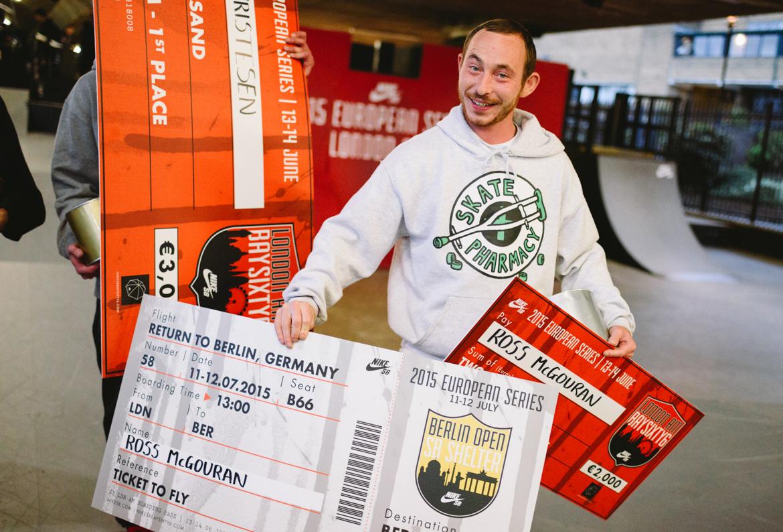 Nike SB London Am Ross McGouran