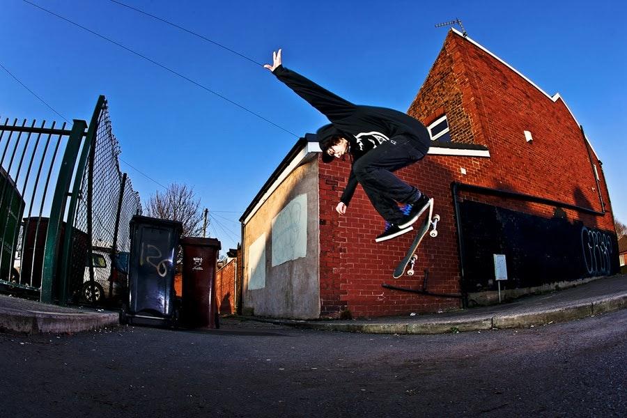 Joe Gavin switch backside flip