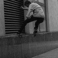 Nick Jensen - frontside noseslide