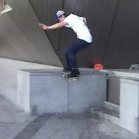 Guy Jones - ride on frontside tailslide