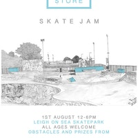 June Skateshop Leigh on Sea comp