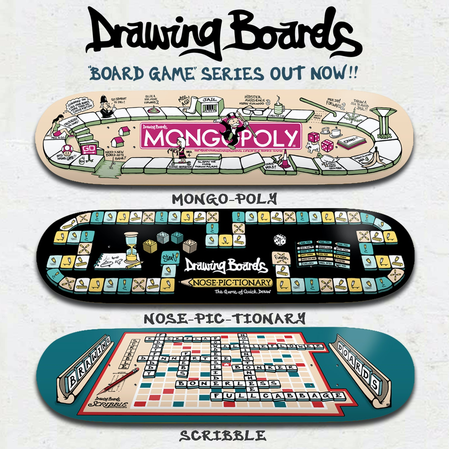 The Drawing Boards – edit, board drop and Adam McEvoy interview