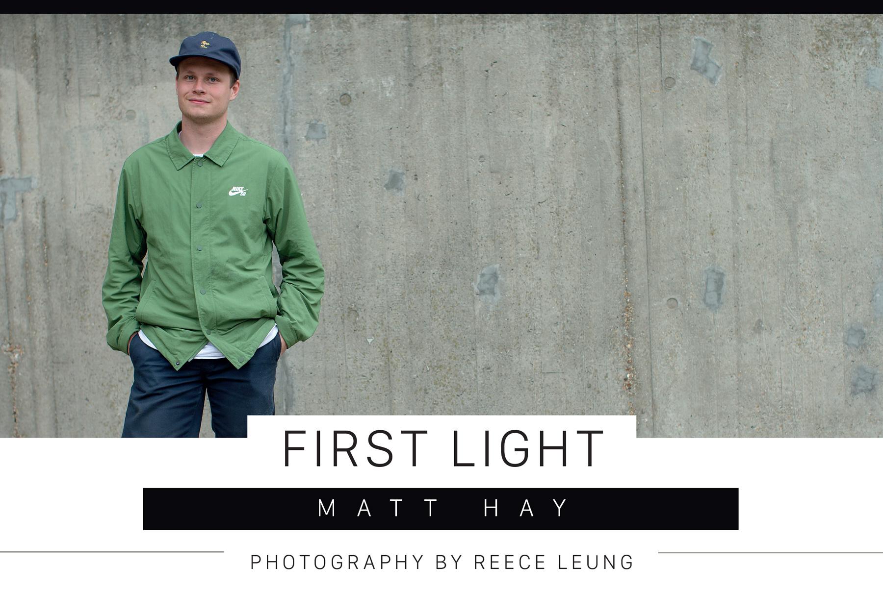 Matt Hay – First Light