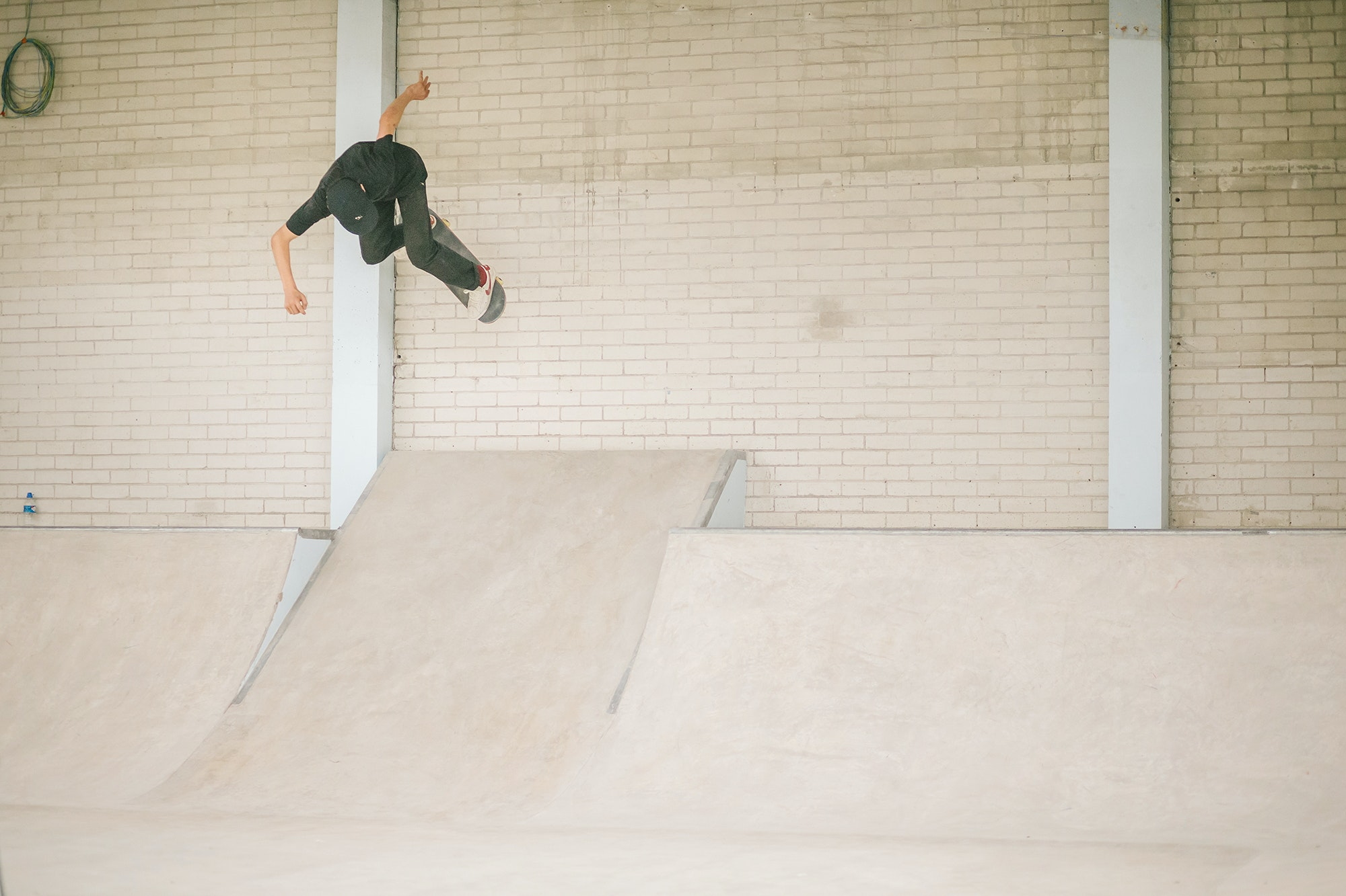 Charlie Birch - ollie out to wallride