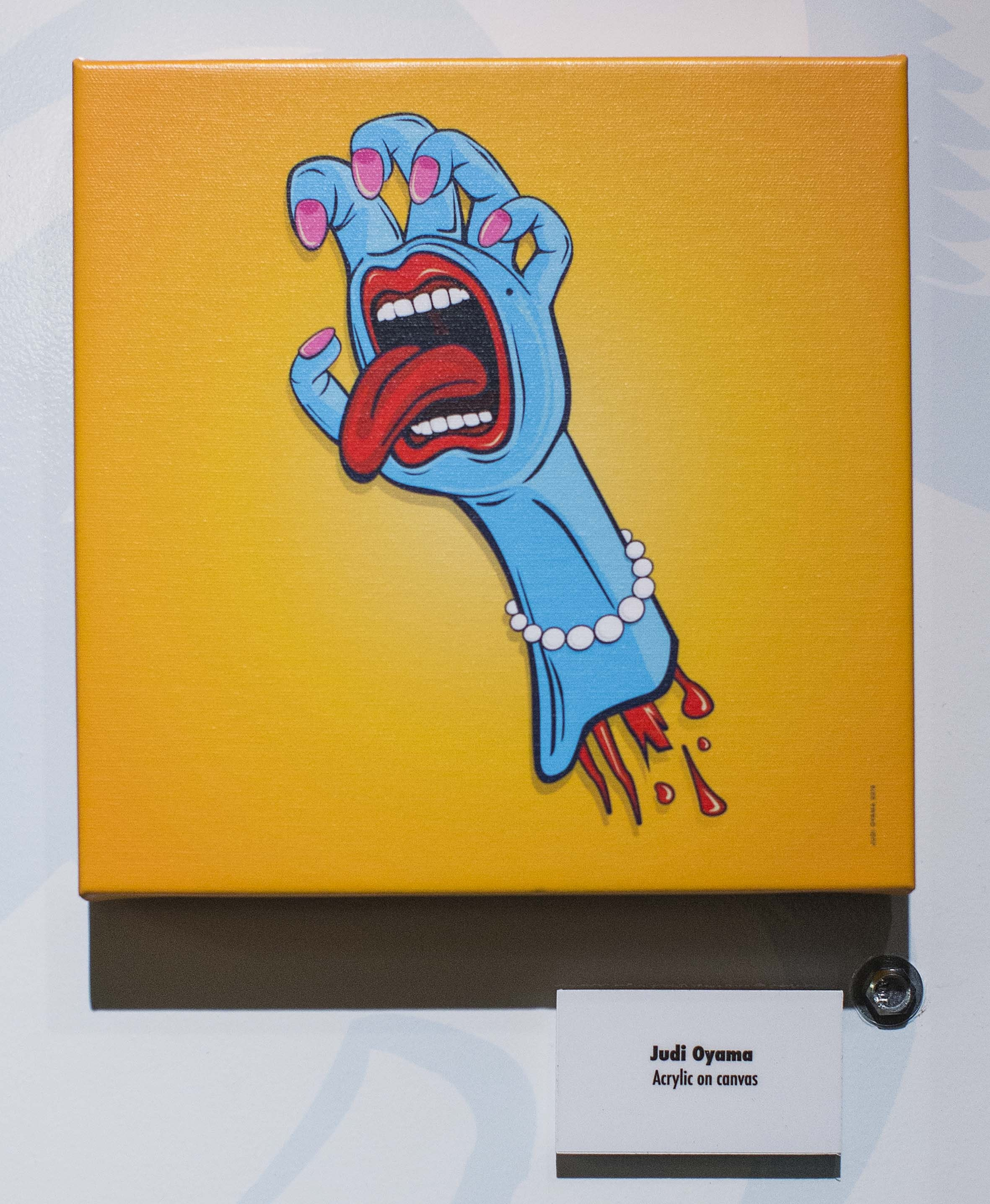 Judi Oyama Screaming Hand