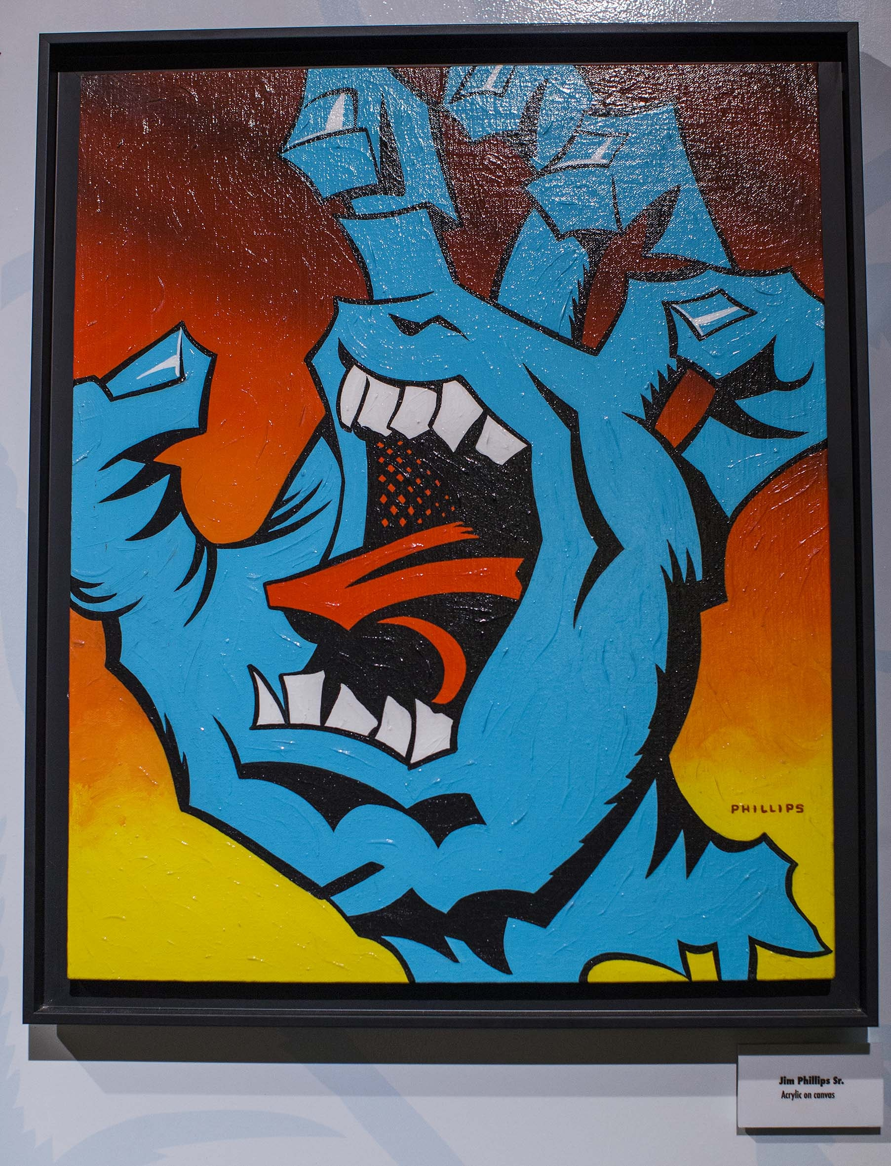Jim Phillips Screaming Hand