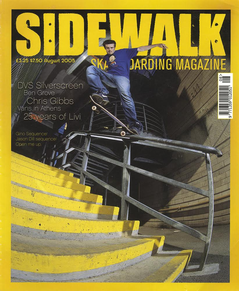 Colin Kennedy August 2005 cover