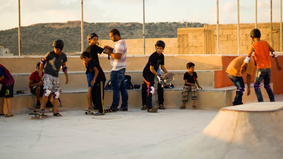 Charlie Davis and SkatePAL: Skateboarding Parks and Coaching in Palestine