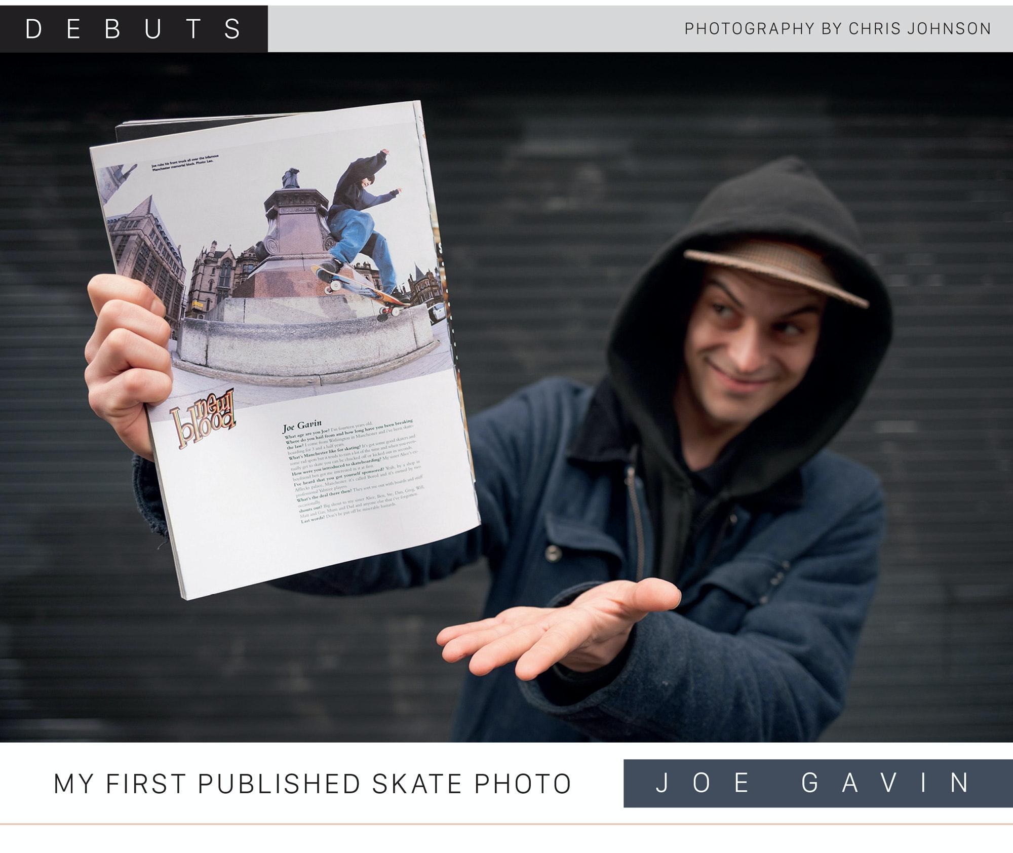 Debuts – Joe Gavin