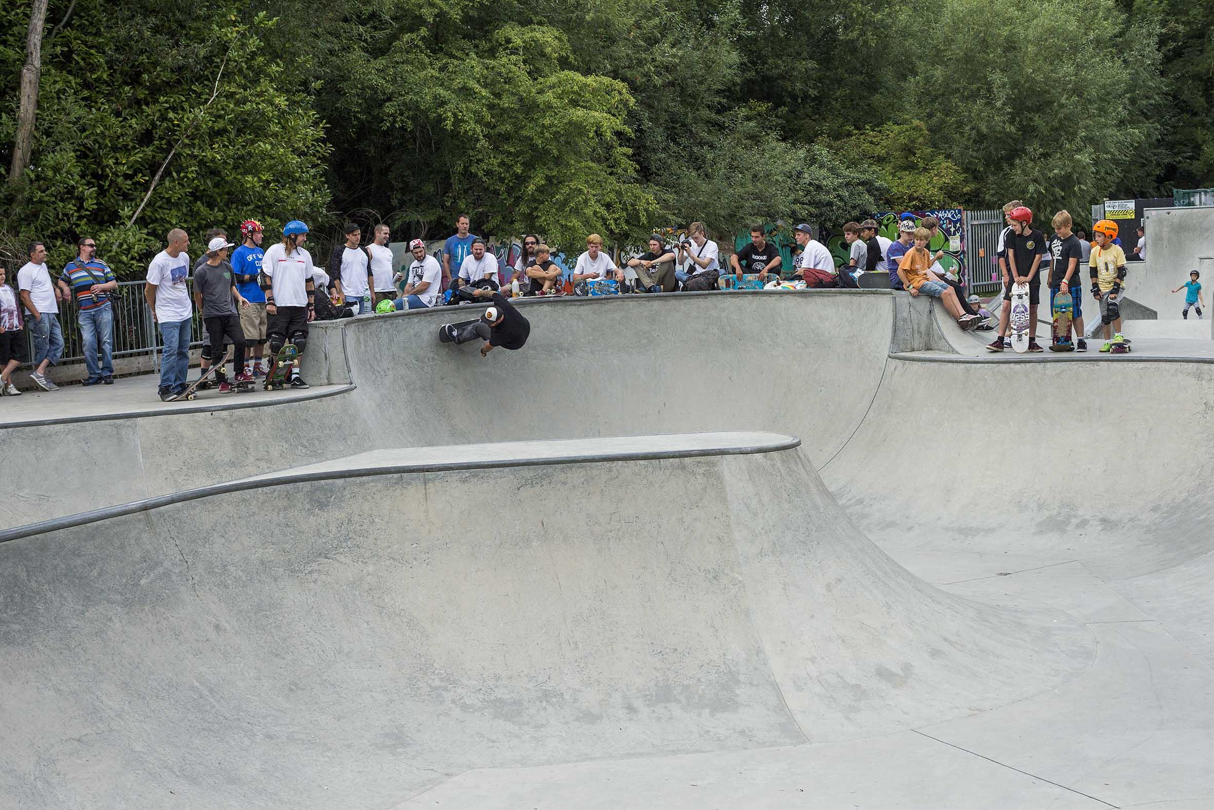 Oxford Skatepark jam