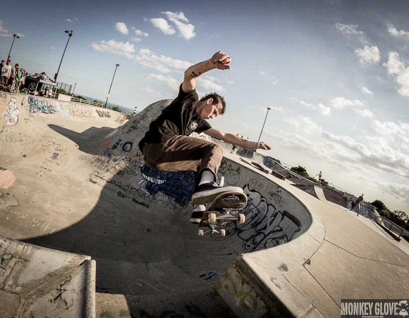 James Moore - gap to front lip over the love seat