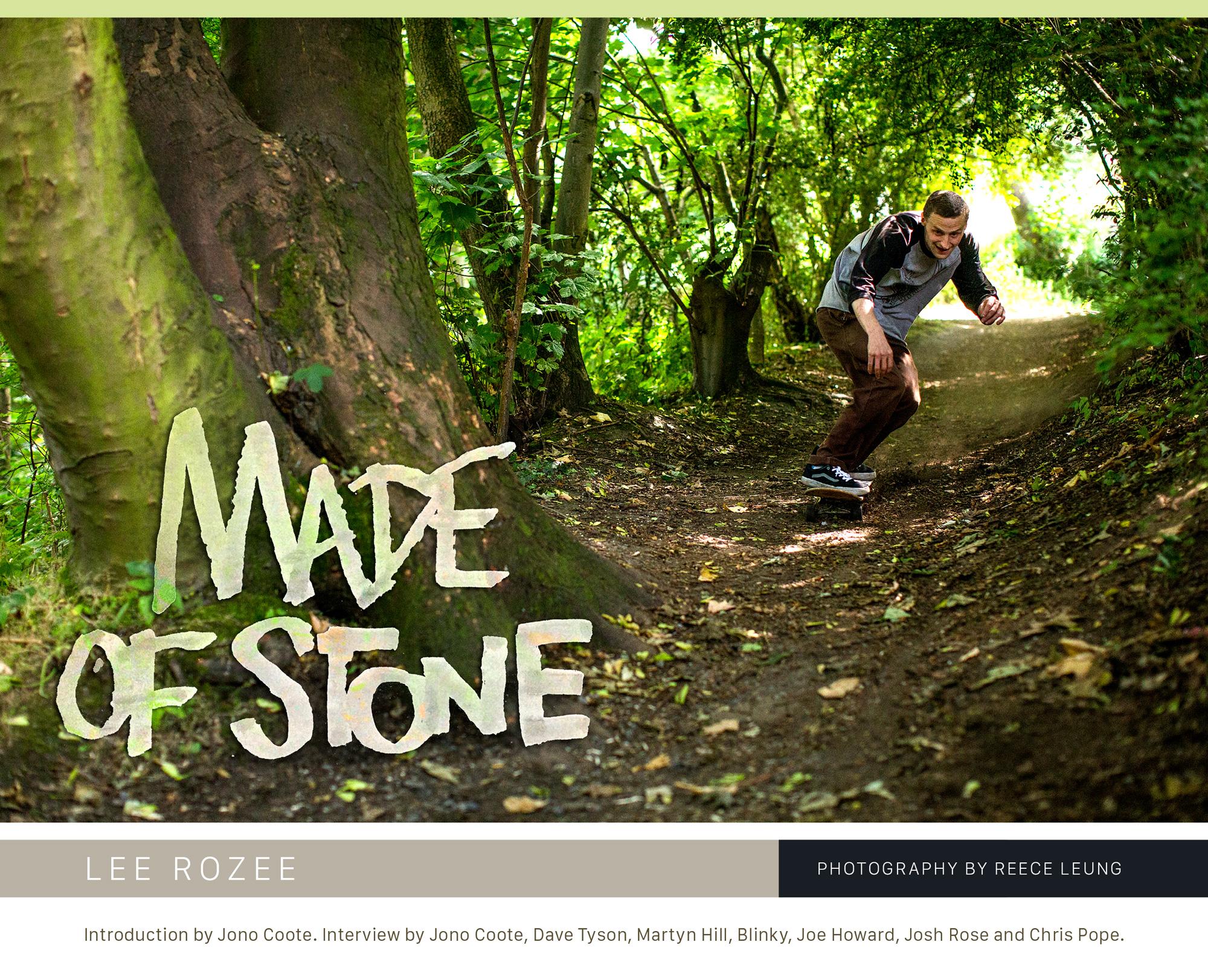 Sidewalk 223 – Lee Rozee – Made Of Stone