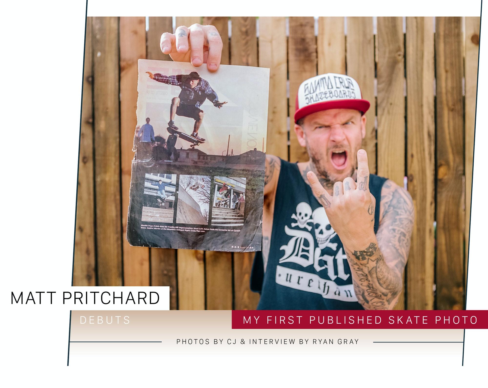 Debuts – Matt Pritchard