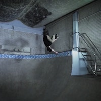 Sam Pulley - invert at Campus Pool