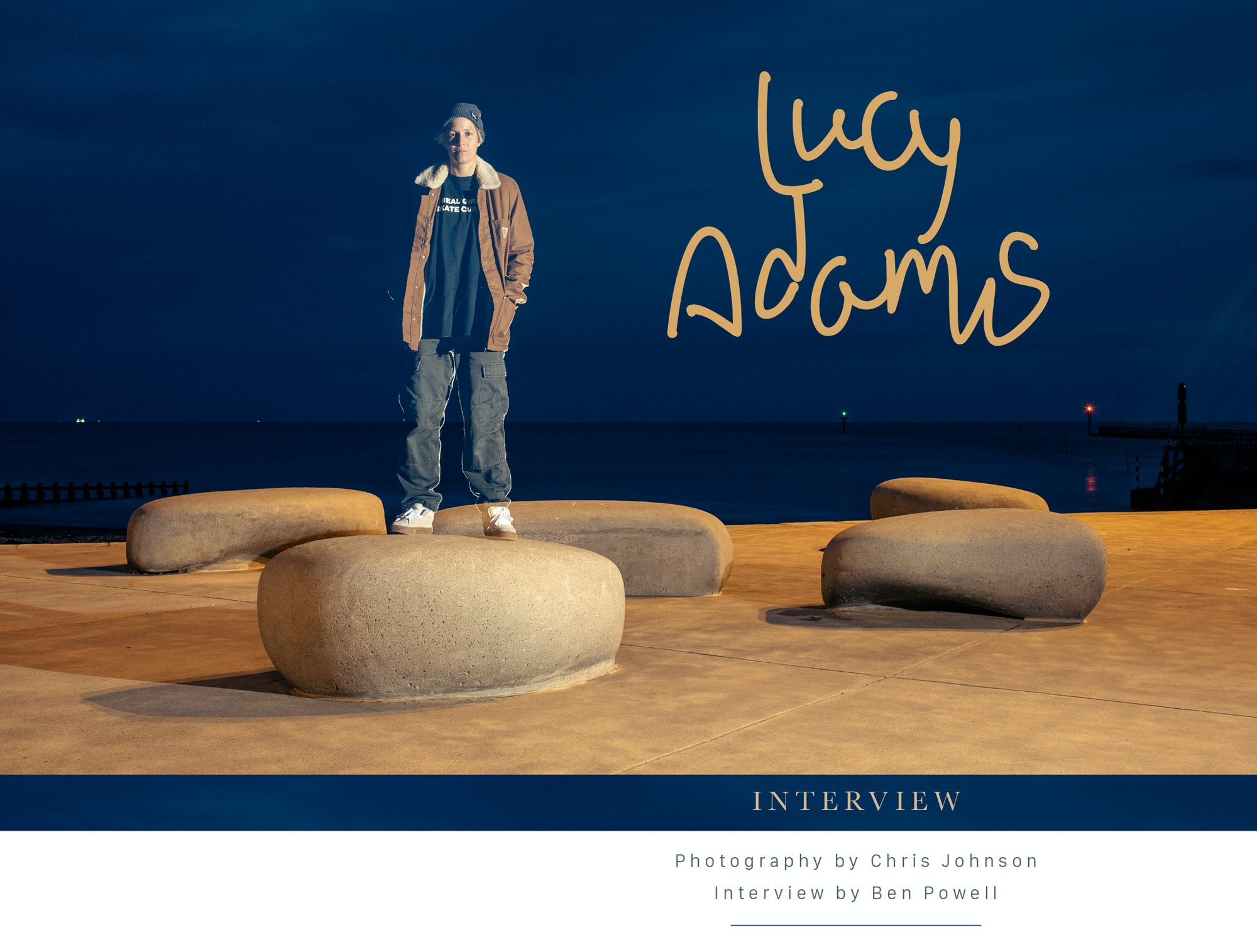 Lucy Adams – Interview
