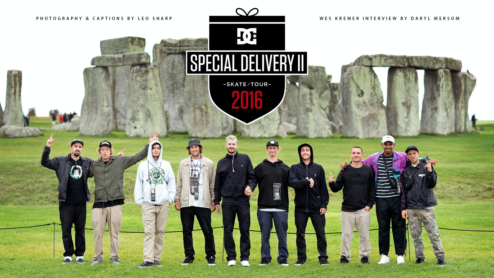 DC Special Delivery II UK Tour