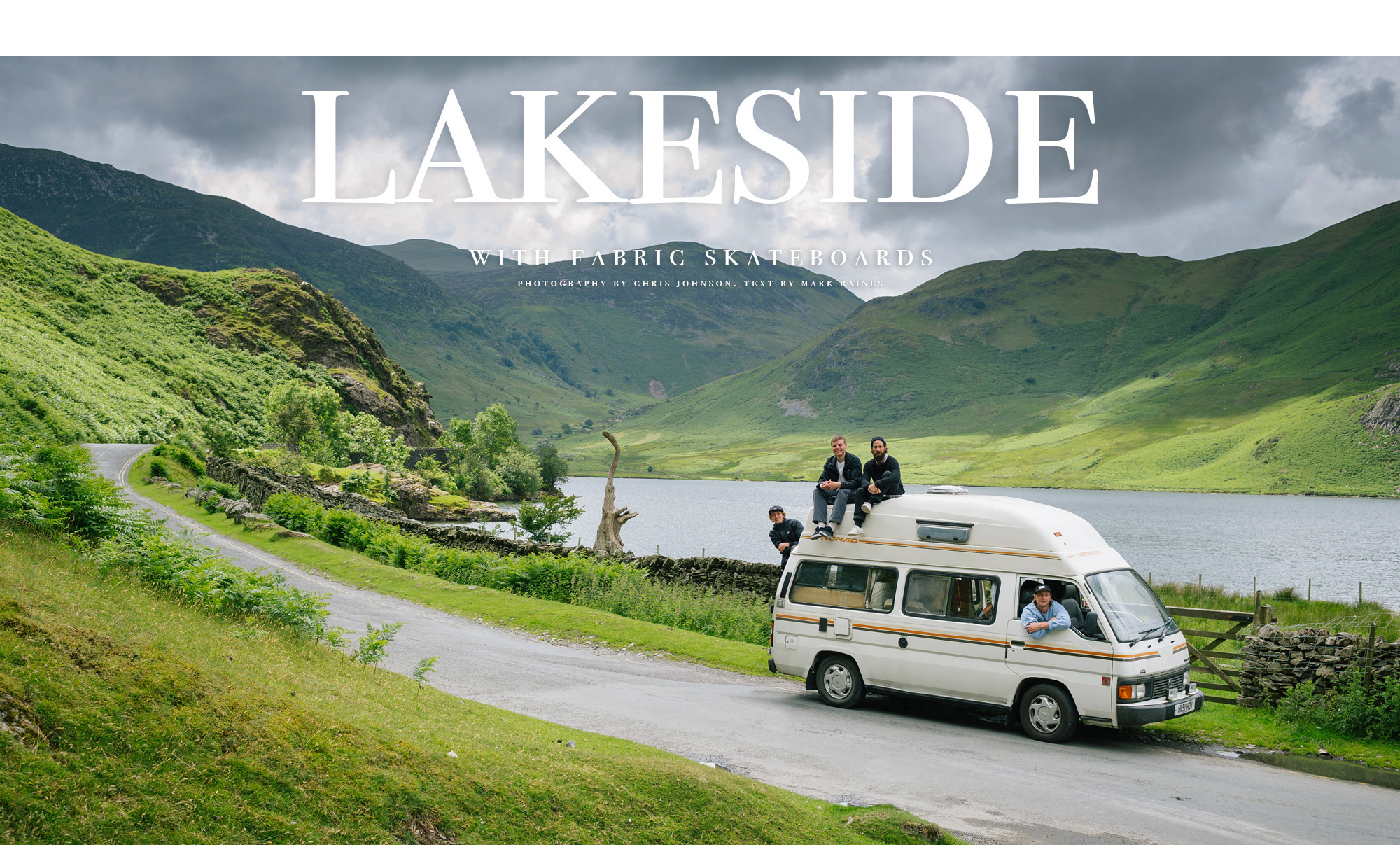 Lakeside with Fabric Skateboards