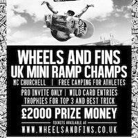 Wheels and Fins Festival UK Miniramp Champs 2017
