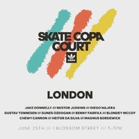 adidas Skate Copa Court Tour London