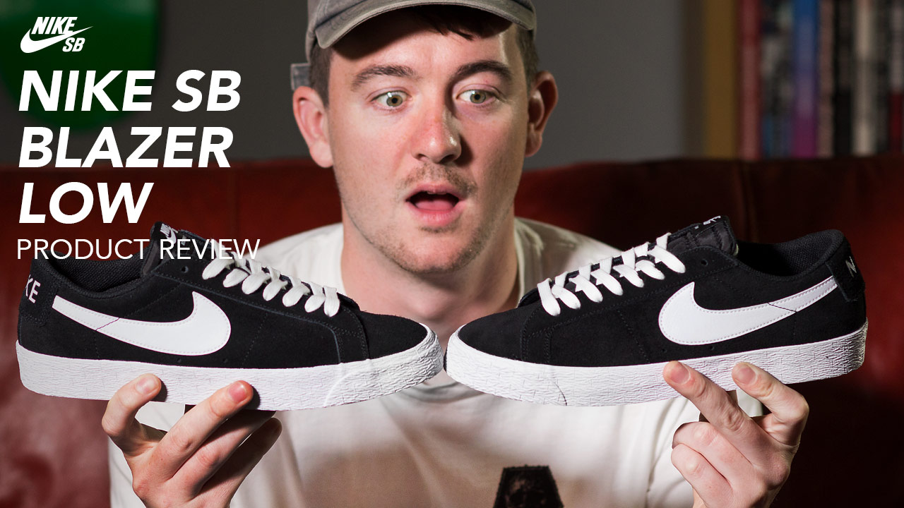 Nike SB Blazer Low review from Rollersnakes - Sidewa...