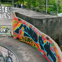 Concrete Dinosaurs Part 3 - Livingston Skatepark