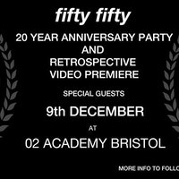 Fifty Fifty Store 20 Year Anniversary Party