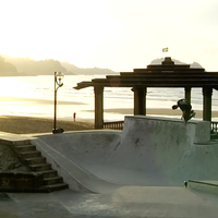 Camping with Carve Wicked in Spain beer Jake Collins skatepark