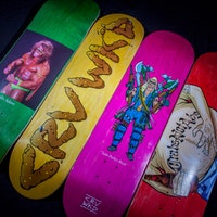 Carve Wicked drop a new clip and a Summer range of skateboards Carve wicked skateboards summer 2018 crv-seriesweb