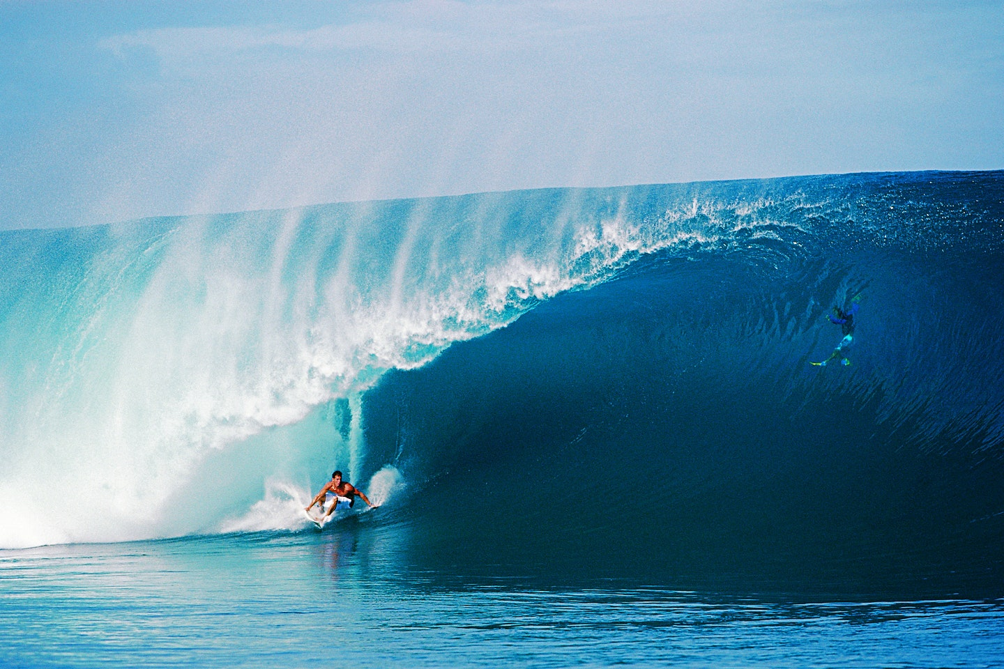 Andy Irons at Teahupoo, on one of the best waves of his career, shot by Tom Servais