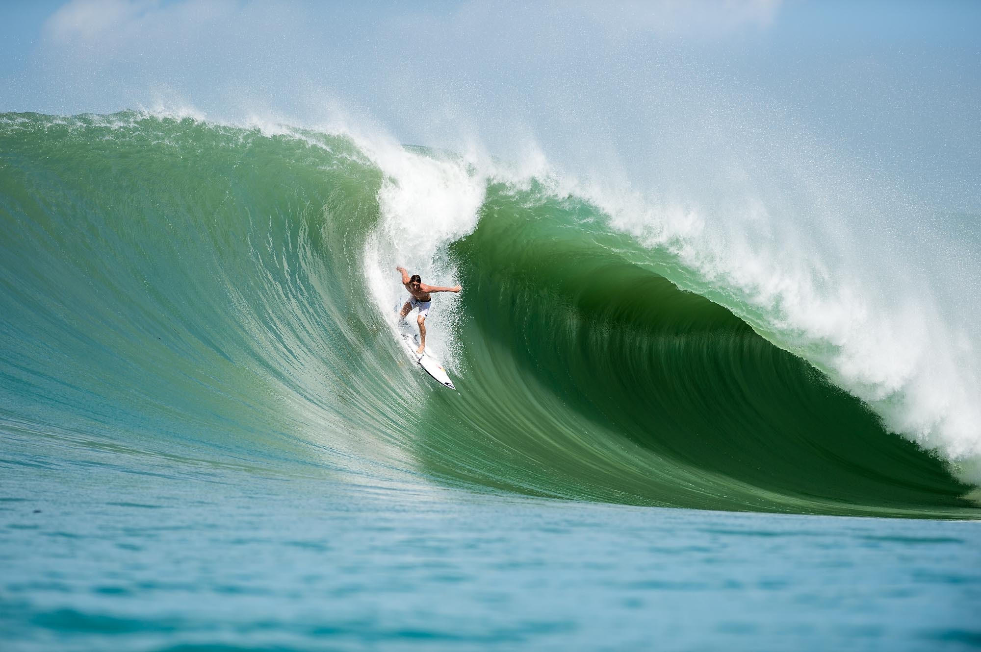 The worlds most dynamic waves: Lagundri Bay, Nias, Indonesia