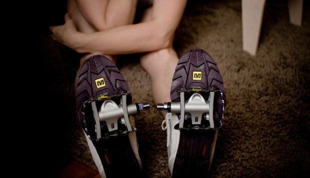 Going clipless is easier with pedals that have a standard side too.