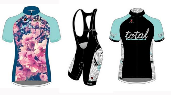 Total Women's Cycling Jerseys