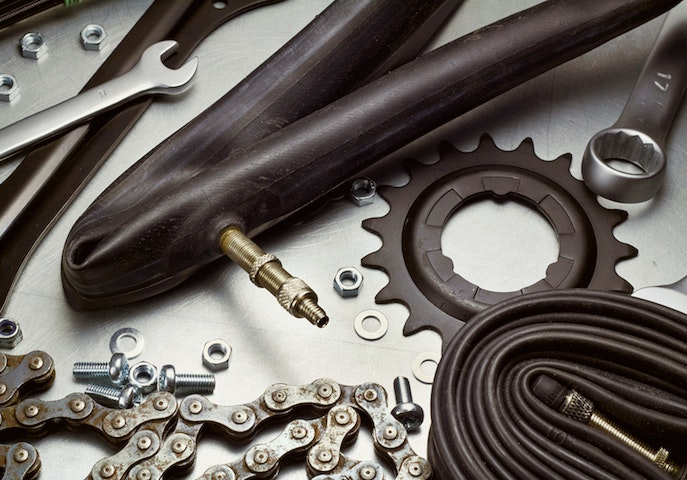 bike repair parts maintenance