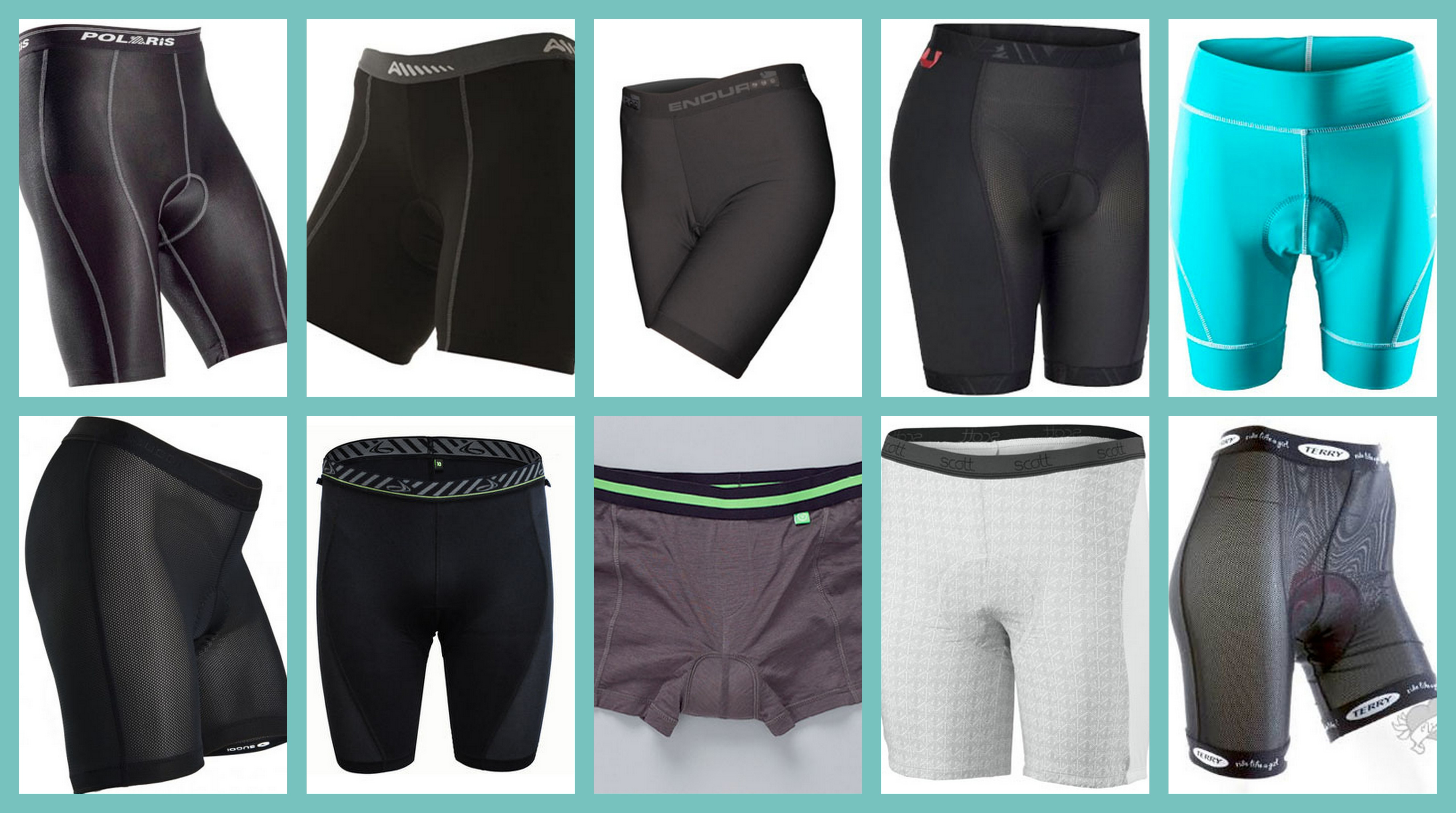 Womens Padded Cycling Running Liner Shorts Bicycle Bike Shorts Underwear Pants