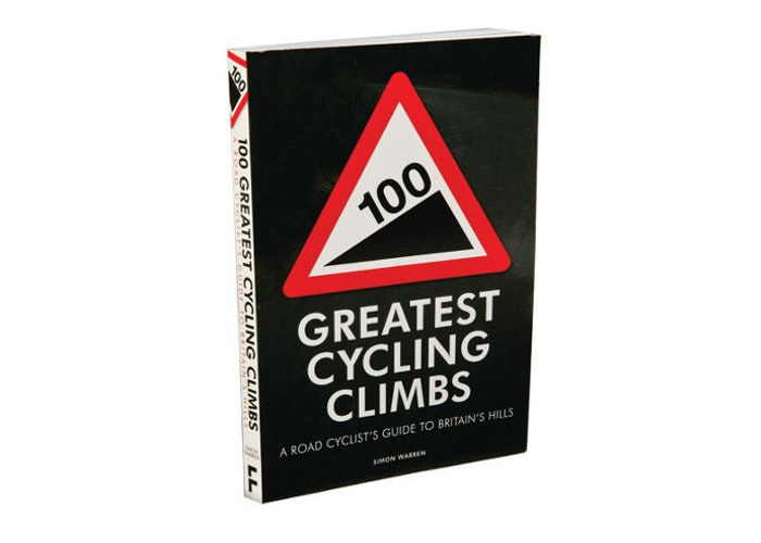book cycling climbs gift