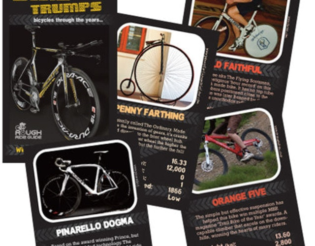 cycling top trump cards gift
