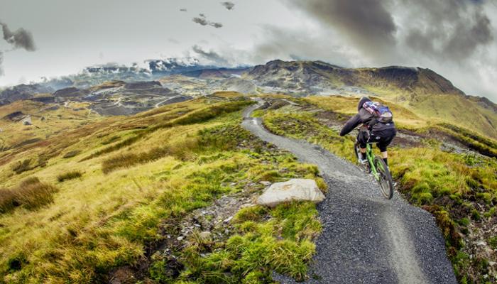 mountain biking uk winter antur stiniog