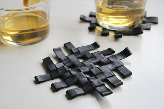 ecycle inner tubes coasters