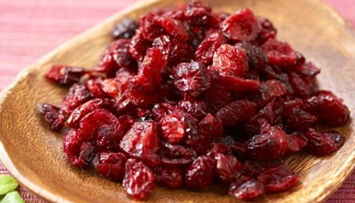 healthy food nutrition content dried cranberries