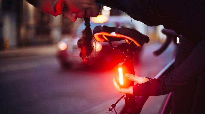light dark night winter safety gadget