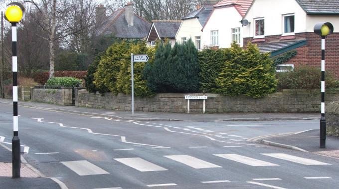 zebra crossing pavement road