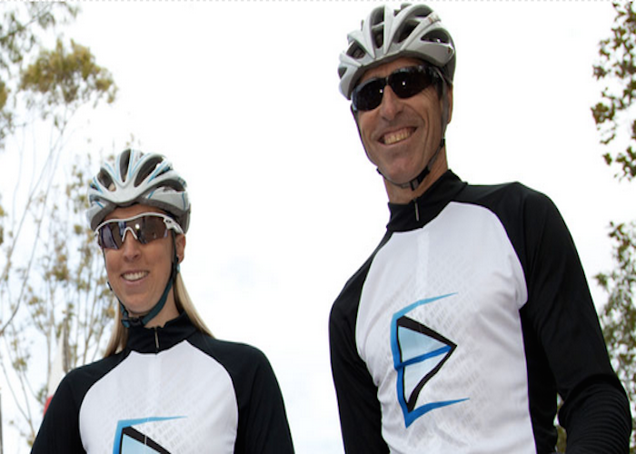 his n hers cycling gear