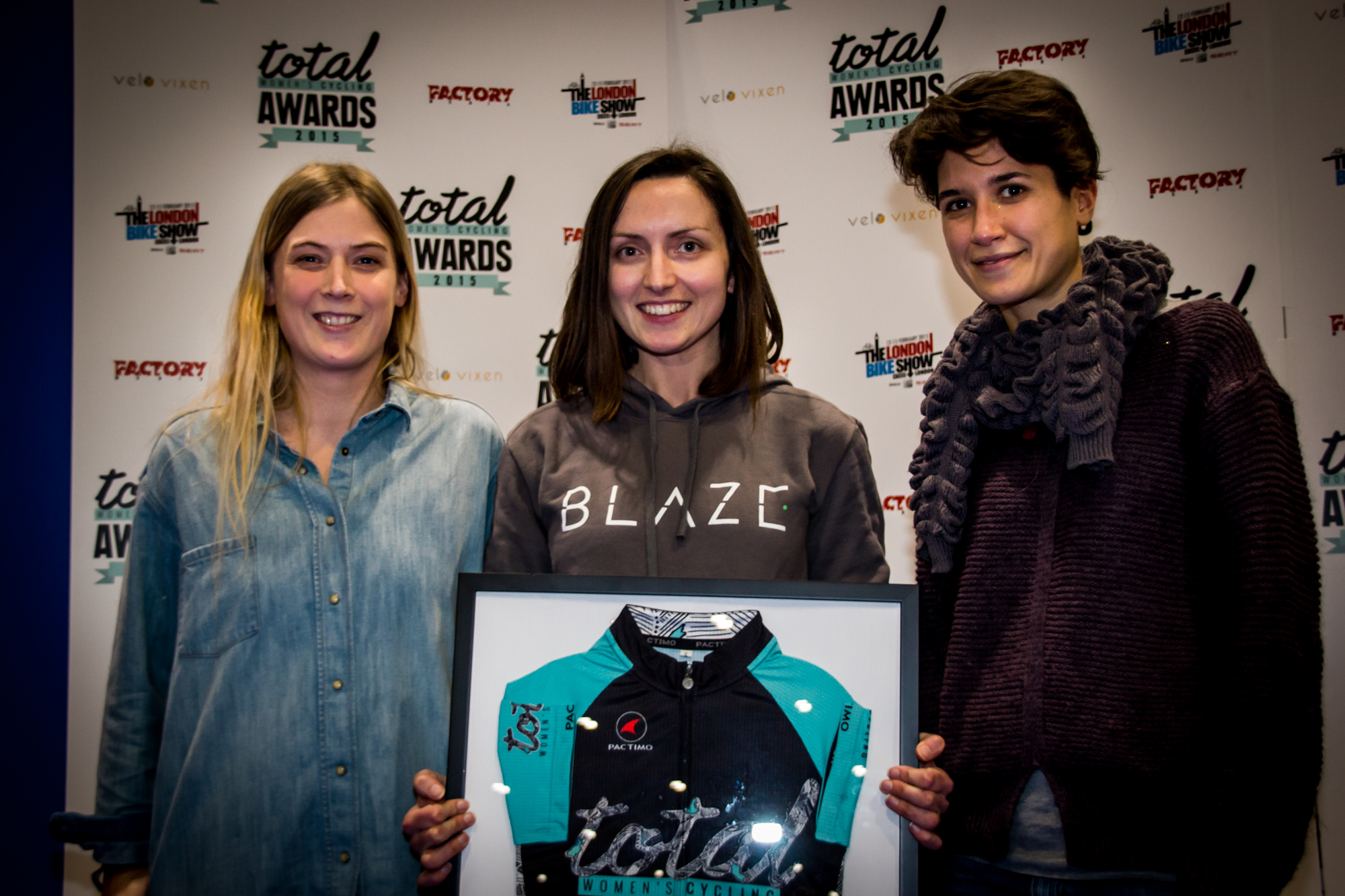 total women's cycling awards