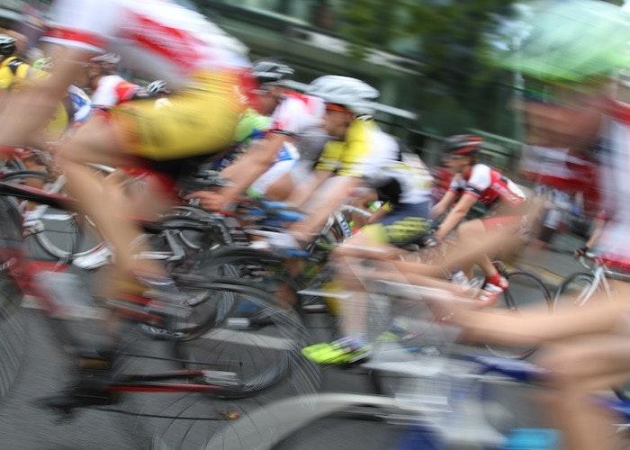 cycling race road