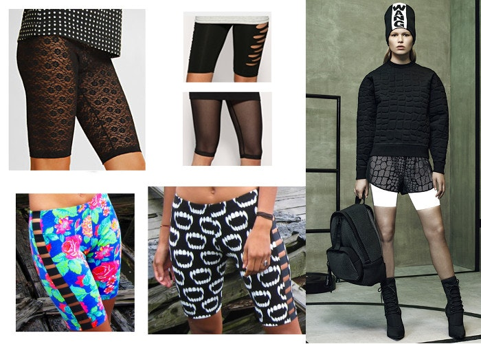 cycling shorts fashion designer