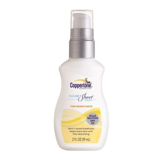 coppertone sunny days face lotion